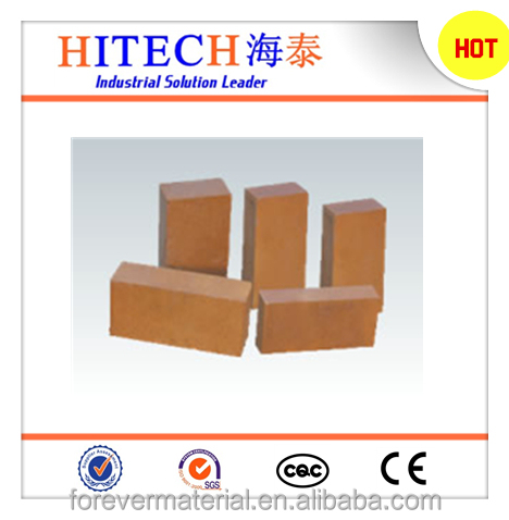 Good price Zibo Hitech fire-resistant magnesia insulation bricks for glass regenerative chamber