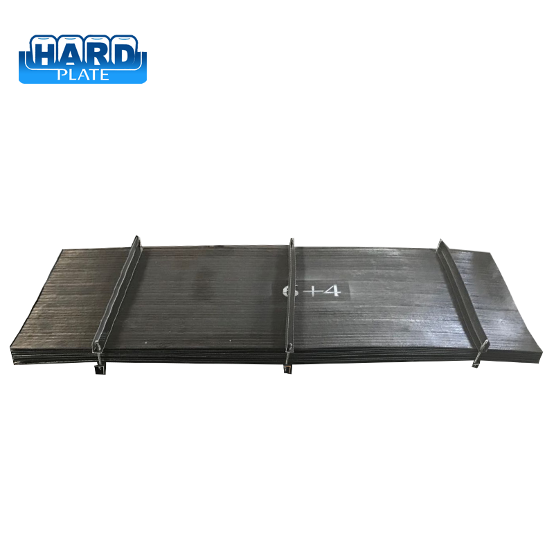Top quality advanced deflectors abrasion resistant steel plates for bucket wheel excavator liners