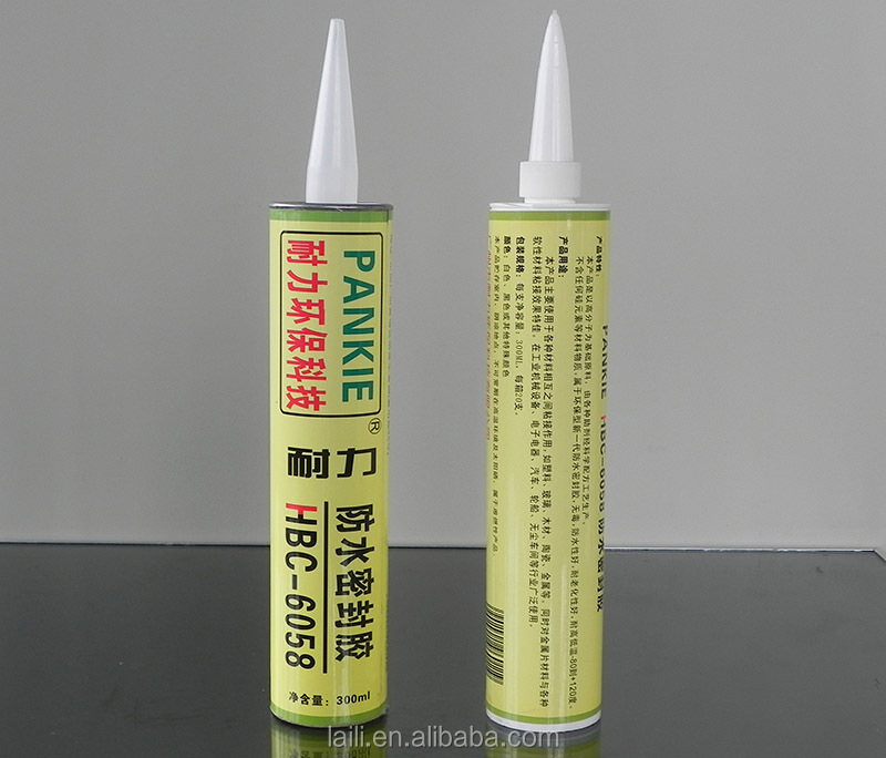 Best selling Waterproof Butyl glass silicone Sealant high quality