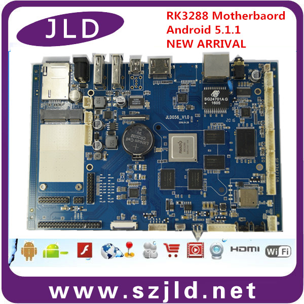 2017 newly RK3288 supermarket POS machine main board <strong>PCB</strong> supplier
