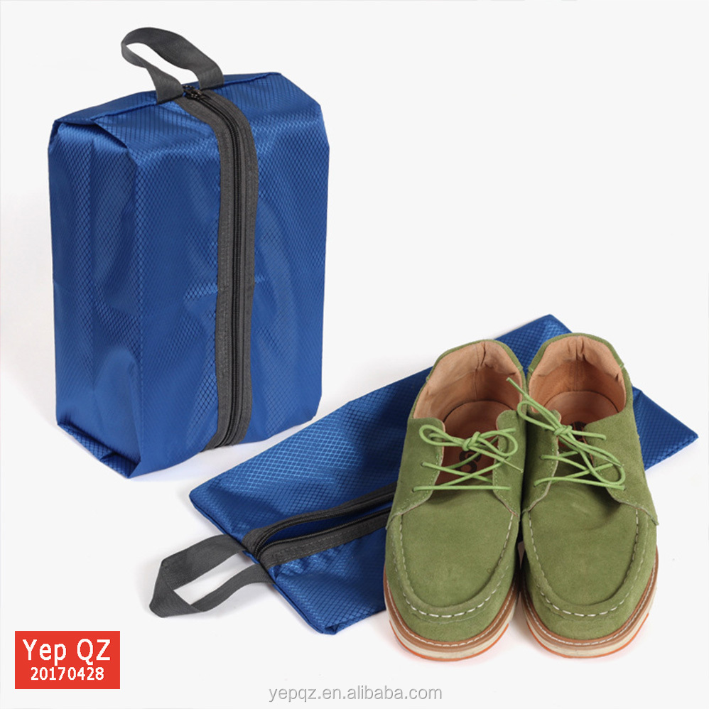 Eco-friendly wholesale polyester custom storage shoe sample bag