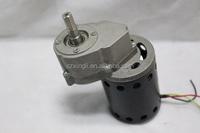 65W 350RPM 8.0A Turque4.5 diameter76mm 12v dc worm gear motor