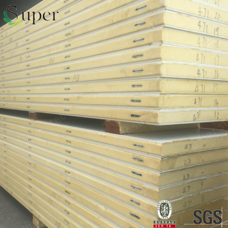 cold room PU polyurethane sandwich panel manufacturers