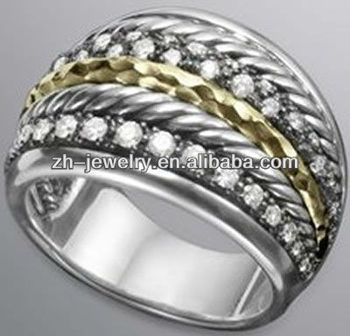 fashion jewelry big pearl rings