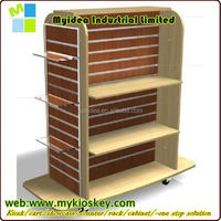 Stylish movable display shelf