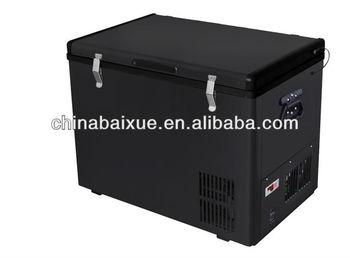 Mini Kühlschrank Mit Batterie : L batterie solar tiefen auto gefrierschrank camping solarstrom