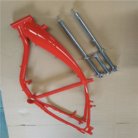 ZEDA bicycle frames/motorized bicycle frame with gas tank/cruiser bicycle frames