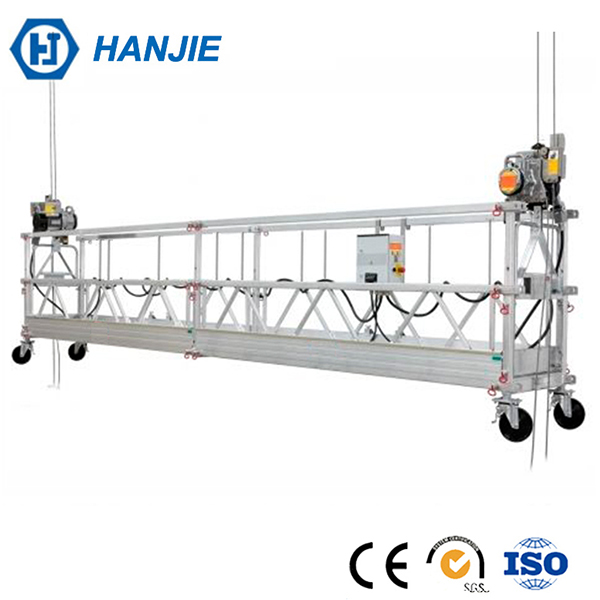 HANJIE ZLP630 Aluminum telescopic work platform/used aerial work platform/raised storage platforms
