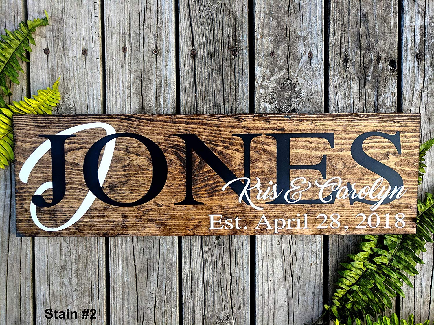 Last Name Sign. Wedding Gift. Personalized Wood Sign. Last Name Sign. Established Sign. Family Name Sign. Custom Name Sign. Anniversary Gift.