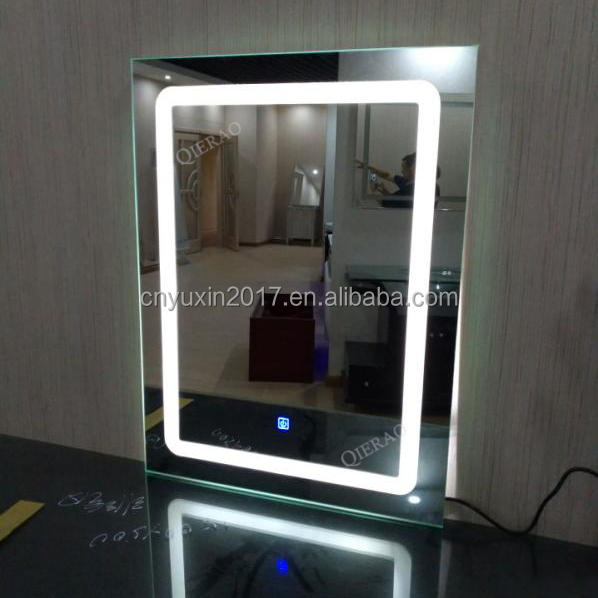 QIERAO LED Backlit Bathroom Smart Mirror With Touch Screen