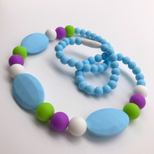 (High) 저 (Quality FDA Latest Design Soft Bpa Free <span class=keywords><strong>실리콘</strong></span> Beads 대 한 Baby Food 급 도매 Fashion 펜 던 트 Necklace