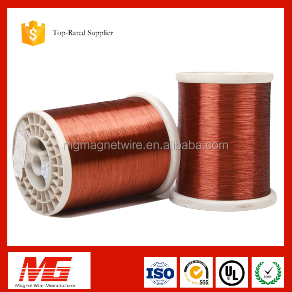 200class round copper clad aluminum wire ecca wire for condenser start moto