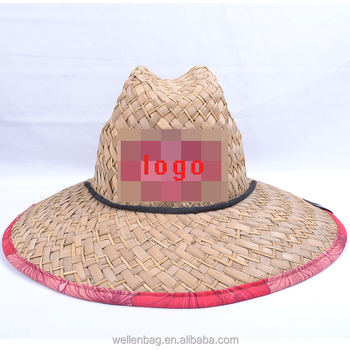 Cheap Wholesale Summer Straw Customized Lifeguard Hats - Buy ... 4302dd7e12c