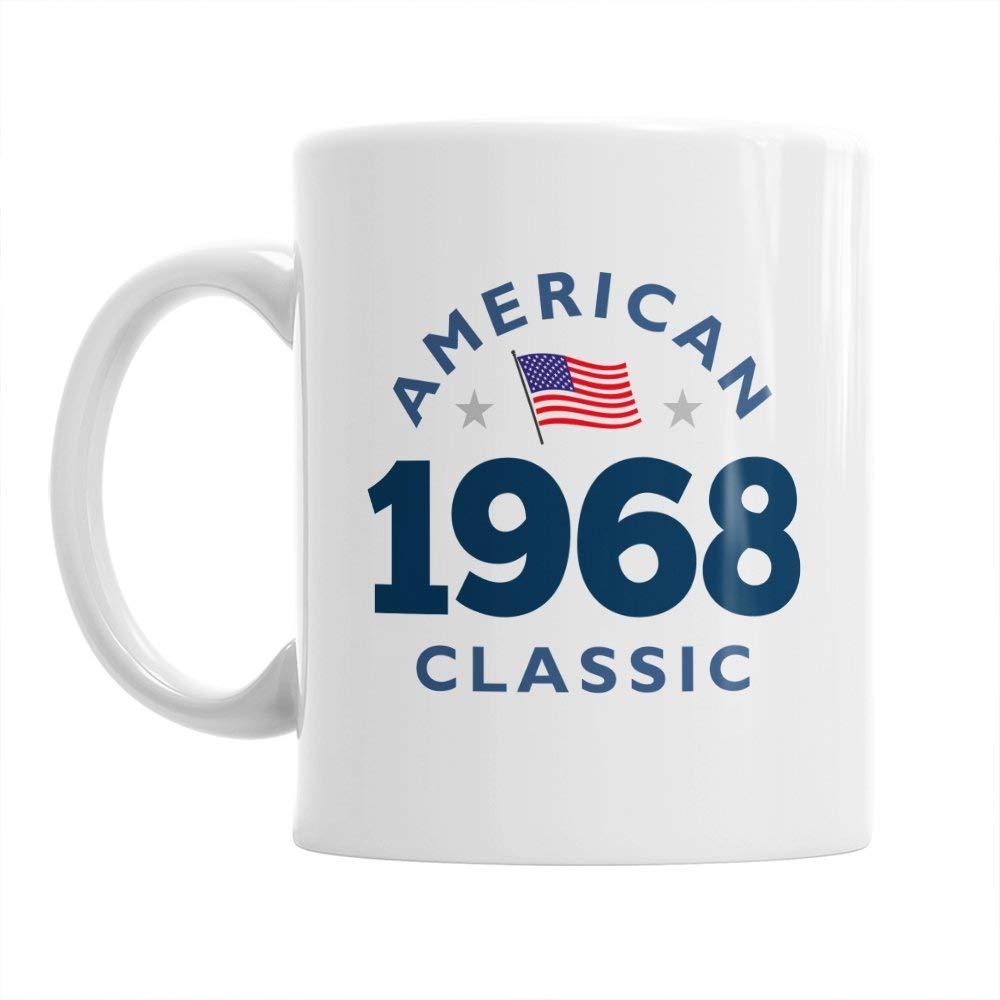 50th Birthday, 50th Birthday Gift, 50th Birthday Gifts For Men, 50th birthday Gifts For Women, 1968 Birthday, Vintage 1968, Coffee Mug