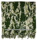 Tactical Shemagh-Green & White-Camo Shemagh / Cam / ACU Shemagh