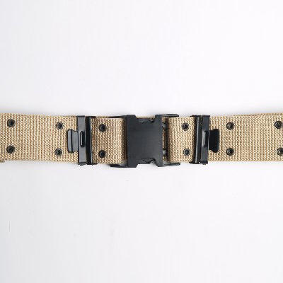 Military Uniform Belts With Plastic Buckle Tactical Operator Belt Black