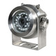 Waterproof IP69 DC12V 700TVL CCD Silvery Explosion proof anti-explosion Camera With IR 8~10m