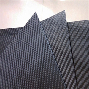 3K plain carbon weaving 100% real carbon fiber laminated sheet