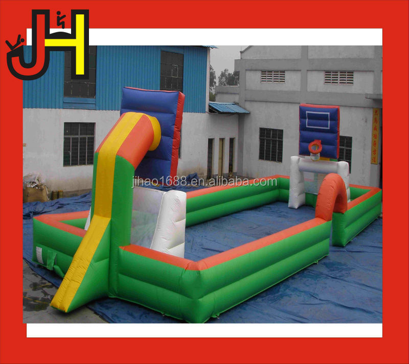 New Inflatable basketball /soccer arena for kids and adults