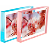 Desktop Custom Colorful Beautiful Magnetic Acrylic Photo Frame