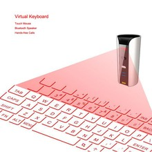 Fashion Wireless Virtual Laser Projection Electronic Keyboard Portable For Ipad Keypad