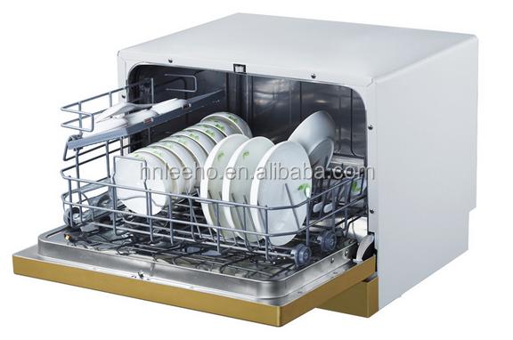 Portable Mini Dishwasher . Compact Tabletop Dishwasher