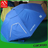 Factory Price Blue Fishing Umbrella Tent For Four Person