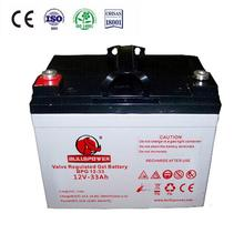 haze battery gel battery 12v 40ah gel battery 48v 12v 42ah BPG12-42