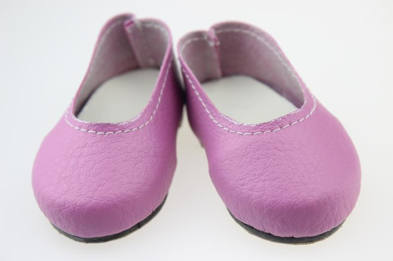 Fashion Beautiful PU Shoes for 18 Inch American Girl Reborn Baby Doll Accessories