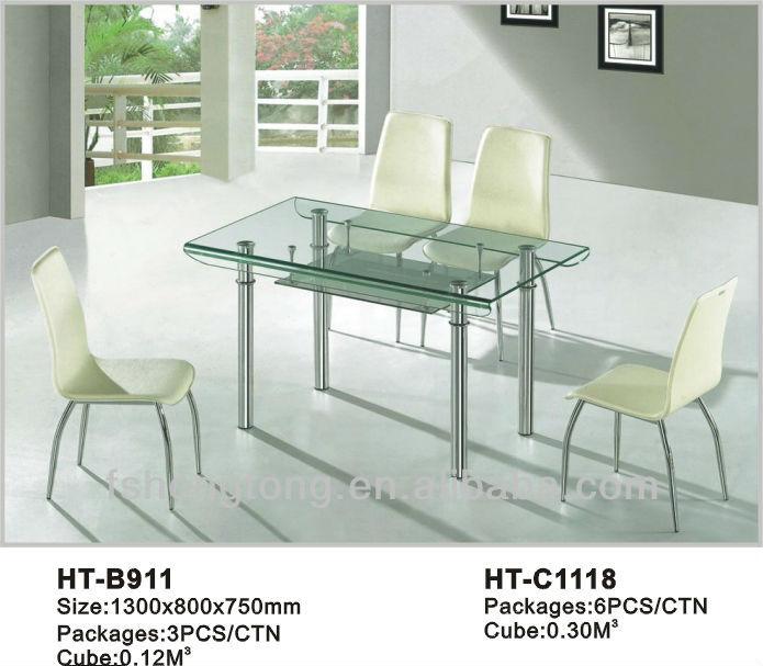 식탁 고급/ 고급 식당 테이블/ 고급 유리 식탁-테이블을 다이닝 ...
