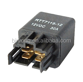 Rs-030 Dc12v 30a 4 Pin Black Automotive Relay - Buy Automotive Relay,12v  Relay 4 Pin,12v 30a Relay Product on Alibaba com