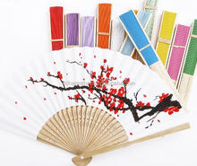 Alibaba hot selling girl love manual hand fan with printed logo for sale