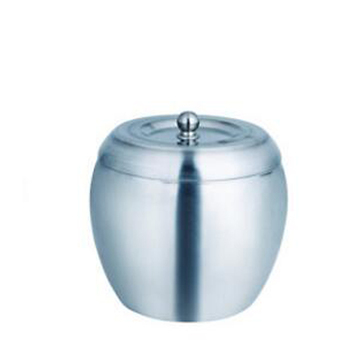 Apple shape Stainless Steel Ice Bucket