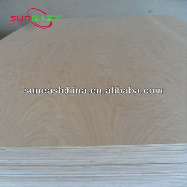 Furniture Grade 18MM Carb P2 White Birch C-2 Plywood Manufacture---for cabiet