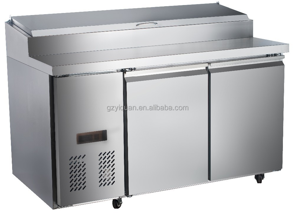 refrigerator table. commercial pizza freezer/ work table/ prep table refrigerator - buy high quality freezer,pizza refrigerator,countertop i
