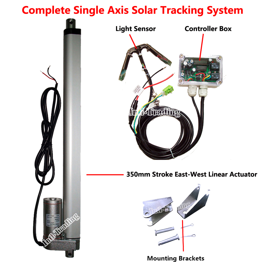 An Automatic Dual Axis Solar Tracker Introduction And Parts List