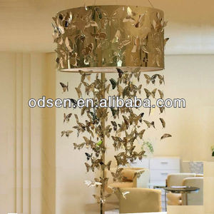 Golden butterfly shenzhen chandelier lamp