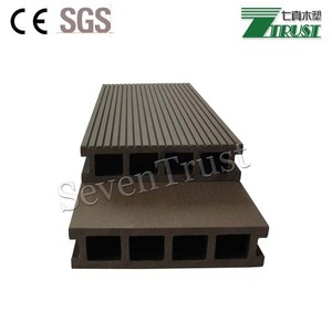 wear resistance durable walking road hollow outdoor wpc decking exterior decoration