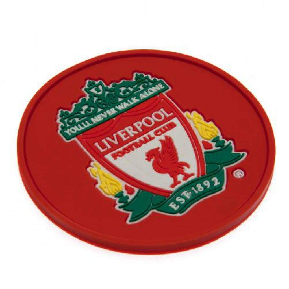9d870d3ba1a Get Quotations · Liverpool F.c. Rubber Coaster Official Merchandise By Liverpool  F.c.