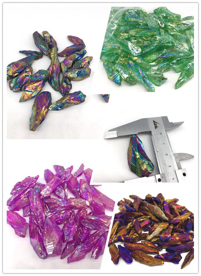 Groothandel natuurlijke bulk kleine ruwe Kleurrijke bismut ruwe kristal rock stenen erts