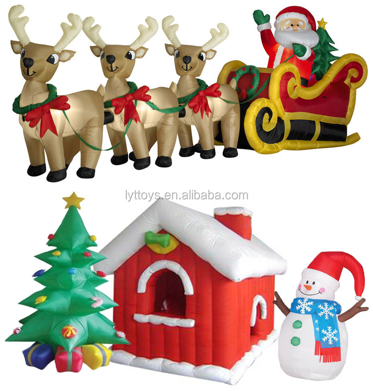 Christmas decoration christmas inflatable tree christmas tree gift