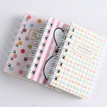 Free samples coil notebook /spiral notebook with wide ruled/ spiral notebook grid paper spiral notebook