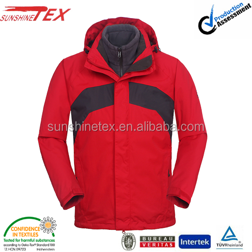 Hihg quality waterproof snow & ski suits jacket for men