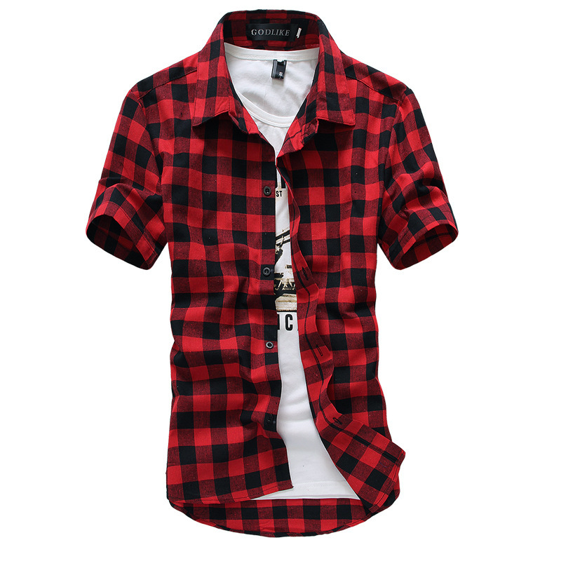 Cheap Red And Black Shirt For Mens, find Red And Black Shirt For ...