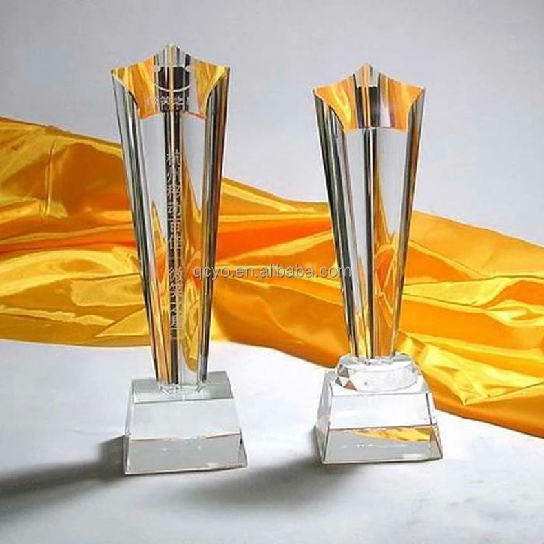 Any shape customized acrylic creative trophy
