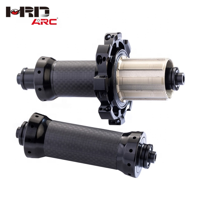 Hot Sale Straight Pull Bike Accessories RT - 025F / RCB CNC Brake NBK Bearings Carbon Fiber 24 Hole Road Bike Hub, Customized as your request