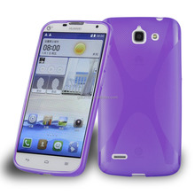 X-line Soft TPU Gel Case Cover for Huawei G730, Cellphone Case for Huawei TPU Case