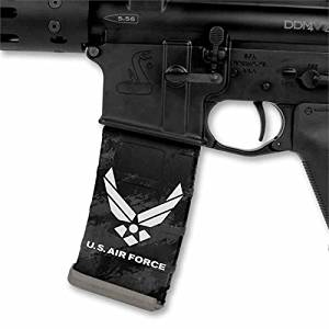 Ultimate Arms Gear Mag Wraps 3 Pack of USA United States U.S. AIR FORCE AR15/M4/M16 .223 5.56 30rd Mag Waterproof Durable Skin Kit - USA MADE