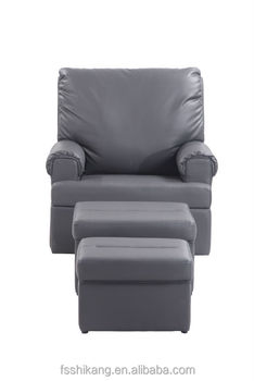 Shikang Leather Reclining Foot Massage Sofa Chair With Stool Buy