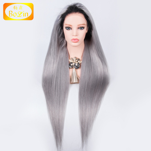 Wholesale Grade 8A Different Color Remy Virgin Brazilian Human Hair Full Lace Wigs